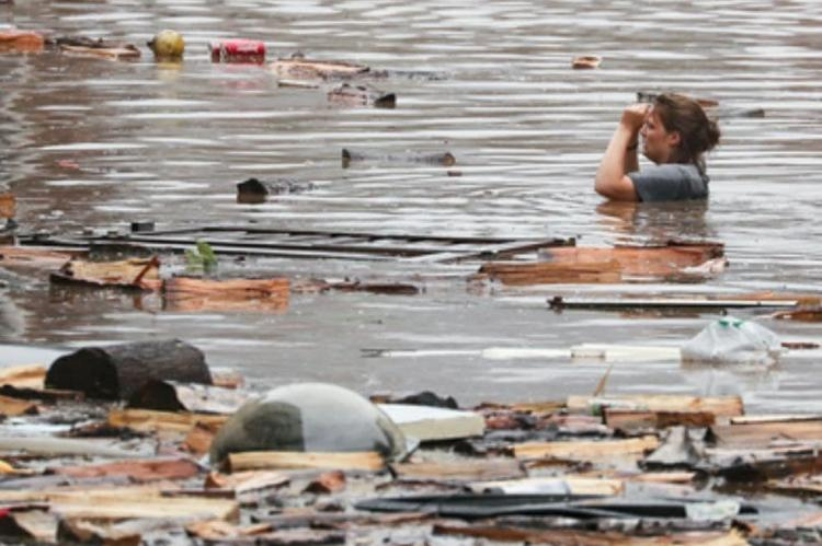 В Германии свыше тысячи человек пропали без вести после наводнения