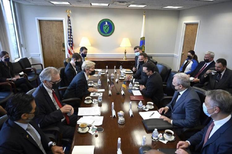 Зеленский на переговорах в США 31 августа