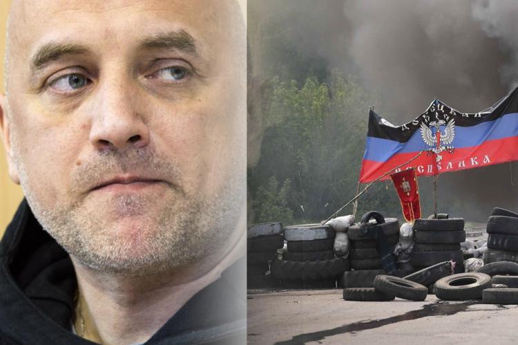 Захар Прилепин, Донбасс