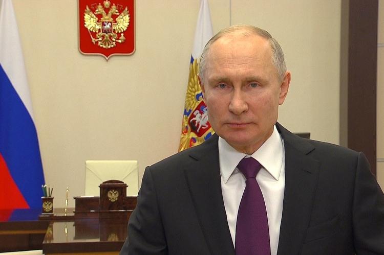 Путин запланировал выступить на Давосском форуме