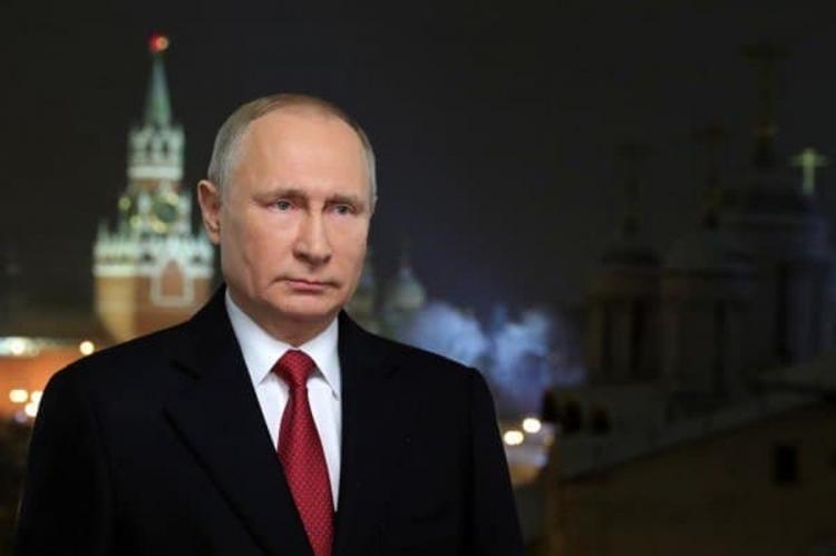 Владимир Путин выступил с новогодним обращением к россиянам