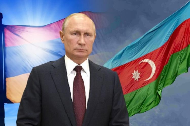 Путин проведет консультацию в Москве с главами МИД Армении и Азербайджана