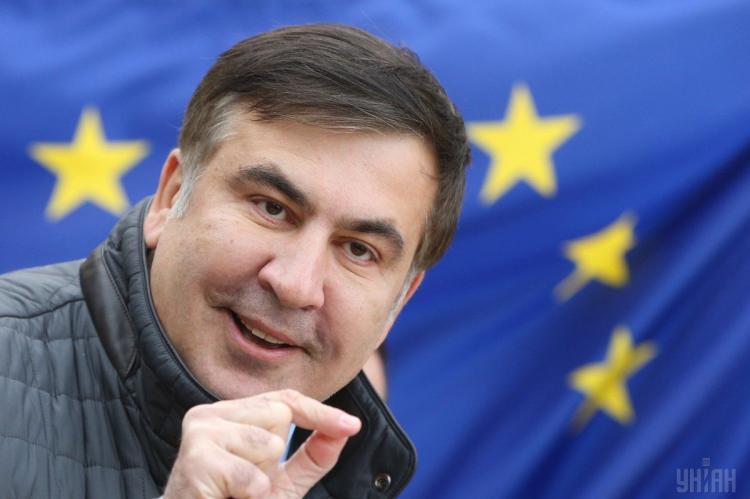 Михаил Саккашвили в Грузии