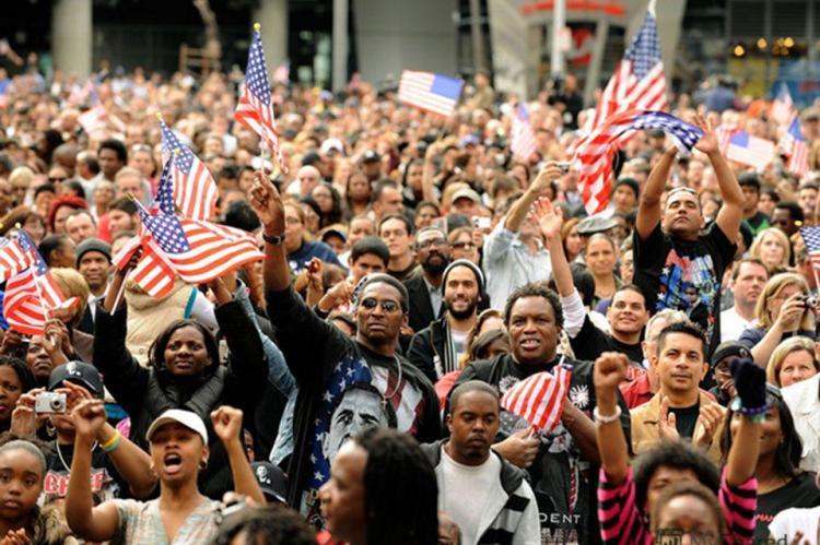 В США доля белых людей в населении сократилась до рекордного уровня
