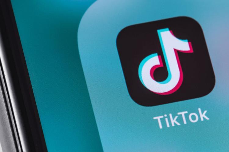 Логотип соцсети TikTok