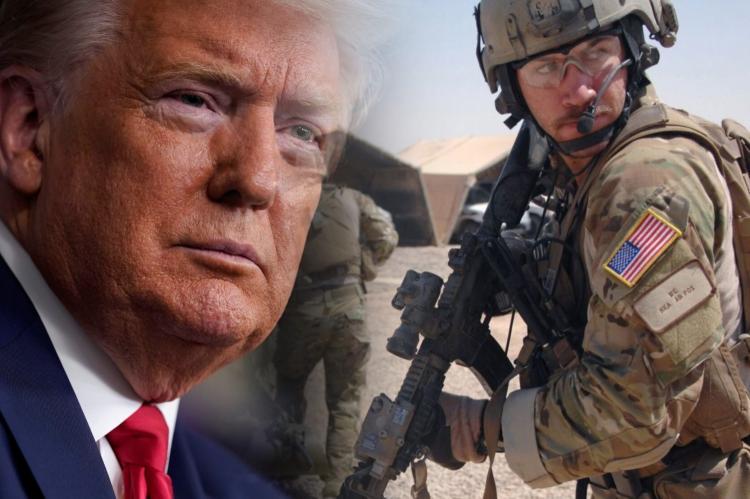 Дональд Трамп, американские военнослужащие