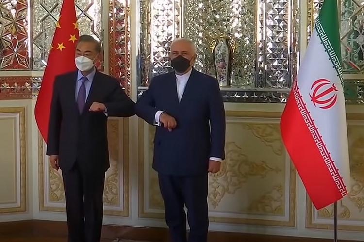 Ван И и Мохаммад Джавад Зариф