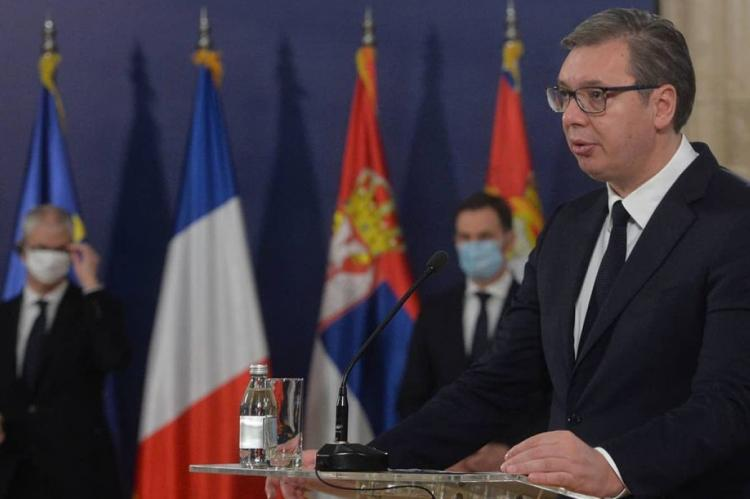 Вучич намерен попросить Путина помочь Сербии в энергетическом кризисе