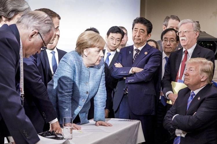 Трамп прокомментировал «плохую фотографию» с саммита G7