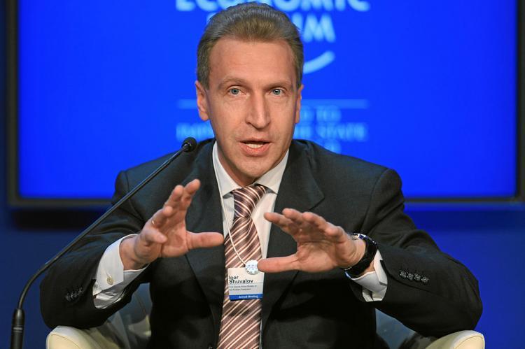 Игорь Шувалов уйдет из правительства