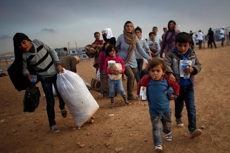 МИД России обеспокоено ситуацией с сирийскими беженцами
