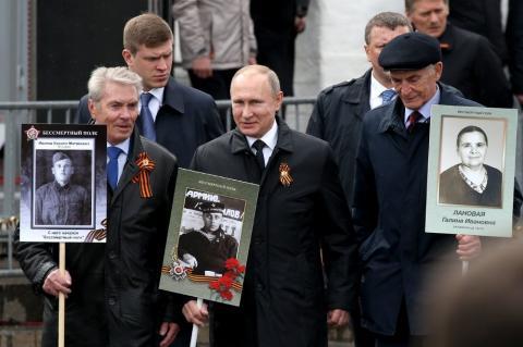 """Акция """"Бессмертный полк"""" прошла в России и зарубежом"""