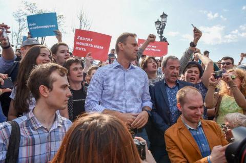 Алексей Навальный получит компенсацию в размере 2 000 евро