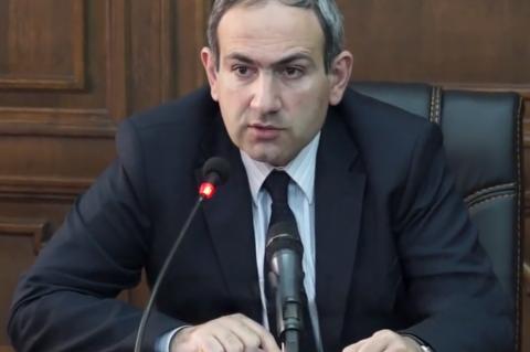 Парламент Армении избрал Пашиняна на пост премьера республики