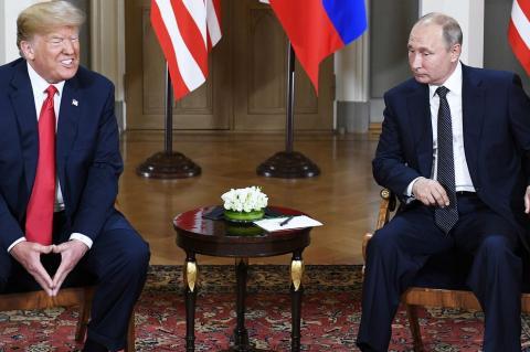 Трамп с нетерпением ждет новой встречи с Путиным