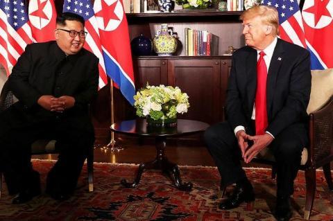 Трамп назвал Ким Чен Ына «великой личностью»