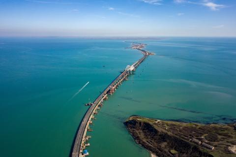 Депутат Рады предложил забрать Крымский мост в качестве «контрибуции»