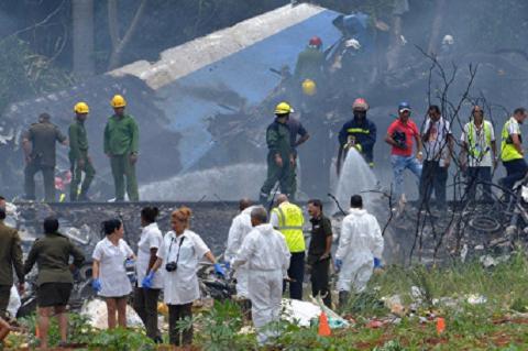 Крушение самолета на Кубе