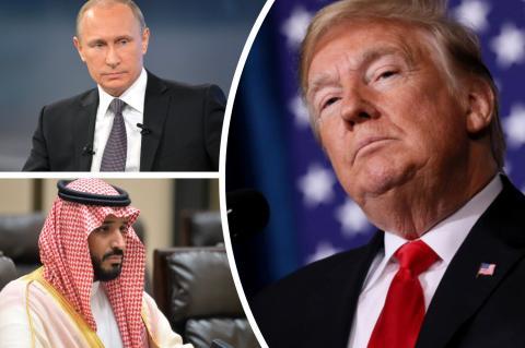Трамп намерен присоединиться к нефтяным переговорам России и Саудовской Аравии