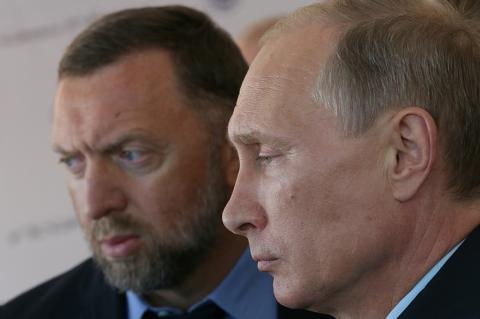 Власти США считают, что Дерипаска отмывал деньги Путина