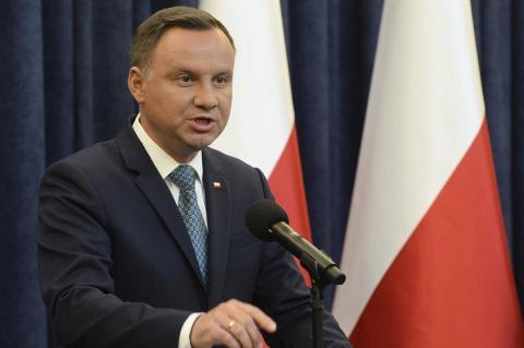 президент Польши отменил поездку на форум в Израиль из-за Путина