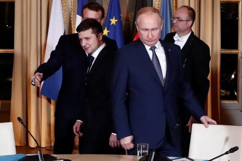 """Украинский лидер рассказал о контакте """"глаза в глаза"""" с российским коллегой"""