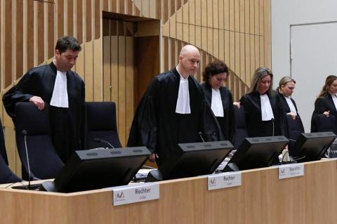 Обвиняемые по делу о крушении MH17 не пришли на слушания в нидерландский суд