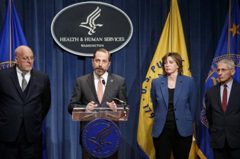 Медицинские власти США анонсировали экстренные меры по коронавирусу