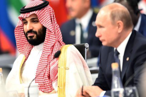 «Кричали друг на друга»: раскрыты детали разговора Путина с принцем Мухаммедом