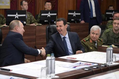 Эксперт: визитом в Дамаск Путин послал сигнал США после авантюры с убийством Сулеймани