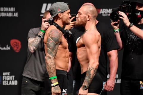 В Sporting Free сообщили размер гонораров Макгрегора и Порье на UFC 264