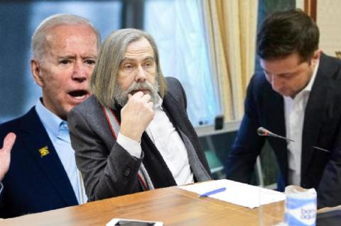 На Украине заявили о «выговоре» Байдена Зеленскому