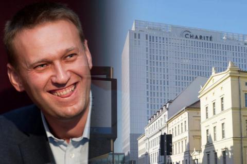 Алексей Навальный, клиника Charite