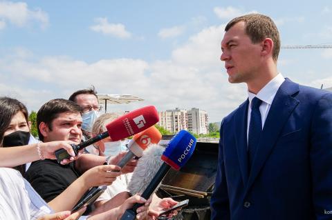 Дегтярев объявил о полной отмене карантина в Хабаровском крае
