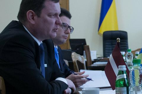 посол Латвии на Украине Юрис Пойканс
