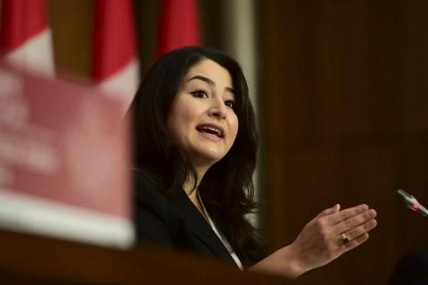Министр Канады по делам женщин и гендерного равенства Мариям Монсеф