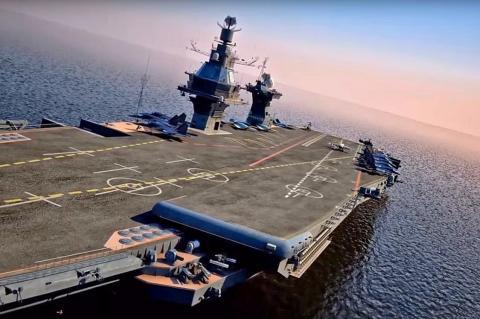 В ВПК оценили стоимость нового российского авианосца