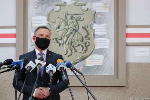 СМИ: Польша пытается согласовать переговоры Дуды с Байденом перед его встречей с Путиным