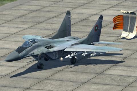 Истребитель ВВС Болгарии потерпел катастрофу в Черном море