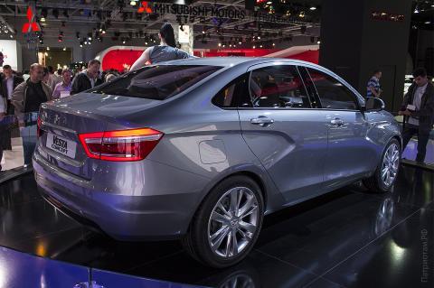 Автомобиль LADA Vesta после обновления получил новый салон