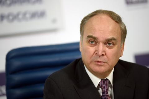 Антонов ответил на заявление госдепа США о применении химоружия