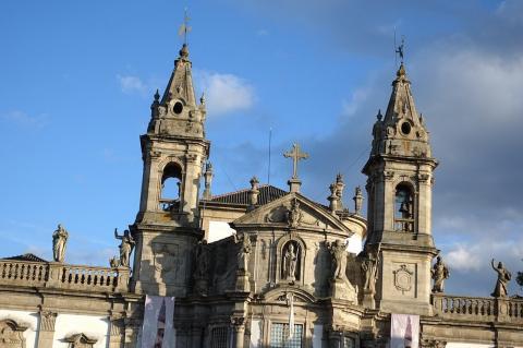 Святилище Самейро в городе Брага, Португалия