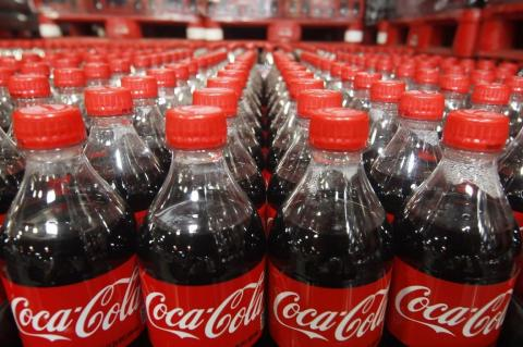 Кока-кола в бутылках