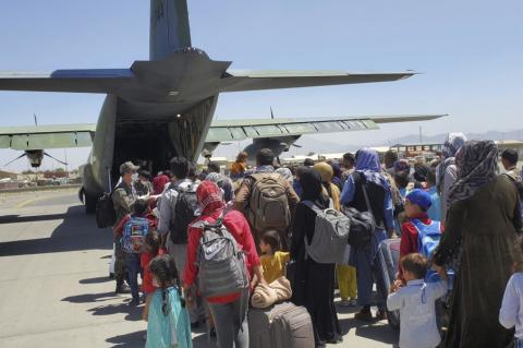 Россия эвакуация из Афганистана