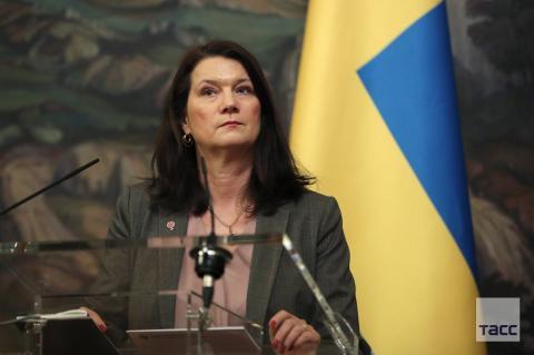 Глава МИД Швеции Анн Линде