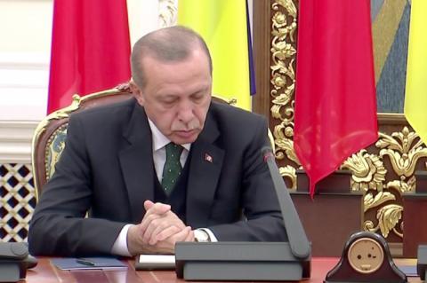 Эрдоган выслал из Турции послов 10 стран