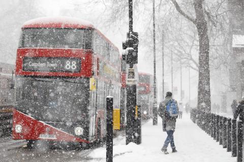 Суровая зима в Европе и цены на электричество
