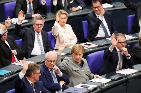 В Германии готовы защищаться в ответ на санкции США по «Северному потоку-2»