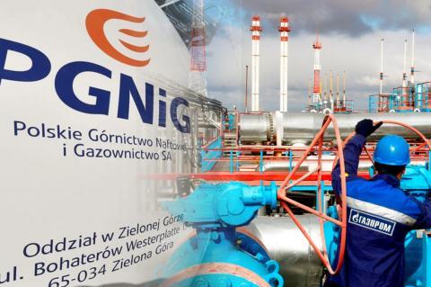 """PGNiG, """"Газпром"""""""