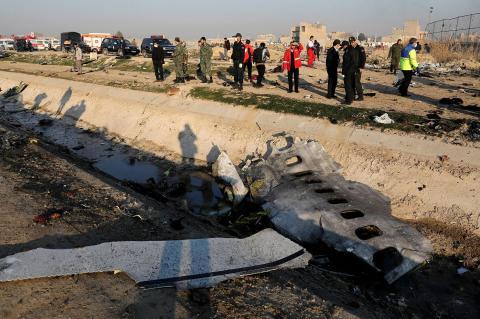 Украинский Boeing был сбит в Иране из-за неверных настроек ПВО